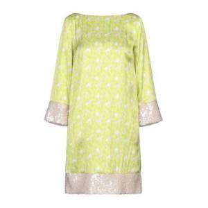 ATOS LOMBARDINI Short dress Women - Acid green - 10,12,6,8