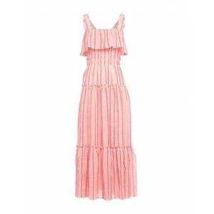 THREE GRACES LONDON Long dress Women Long dress Women  - Coral - Size: 6
