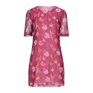 TWINSET Short dress Women - Maroon - 10,12,16,6,8