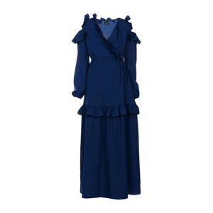 PINKO Long dress Women Long dress Women  - Dark blue - Size: 10,12,6,8