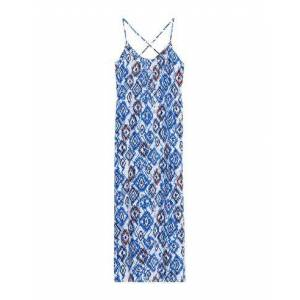 MELISSA ODABASH Long dress Women - Blue - L