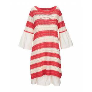 SCEE by TWINSET Short dress Women - Coral - S