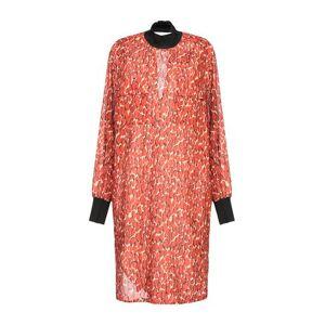 BY MALENE BIRGER Short dress Women - Rust - 8