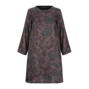 Alpha Short dress Women - Dark brown - 8