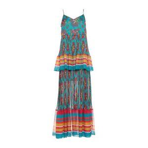 TWINSET Long dress Women - Deep jade - 10,12,8