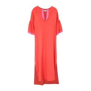 BALLANTYNE 3/4 length dress Women - Red - 10,8