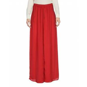 WEILI ZHENG Long skirt Women - Maroon - L,M,S