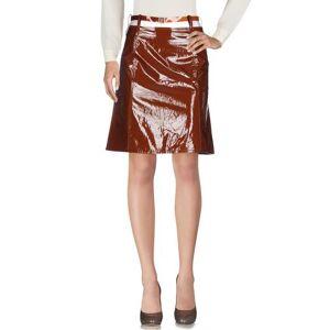 MARIOS Knee length skirt Women - Brown - M