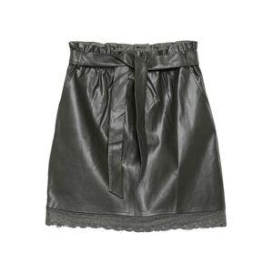 MOLLY BRACKEN Knee length skirt Women - Military green - M