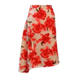 JIL SANDER 3/4 length skirt Women 3/4 length skirt Women  - Red - Size: 8