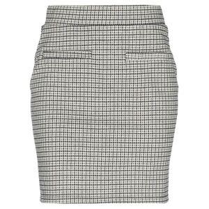 PIECES Mini skirt Women Mini skirt Women  - Beige - Size: Large