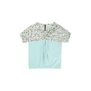 MANILA GRACE T-shirt Girl 9-16 years - Sky blue - 10,12,14