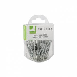 KF02025Q Paperclip 50MM Serrated (Pack-10)