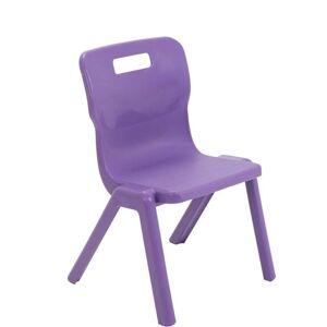 Titan One-piece Chair 350MM - Purple