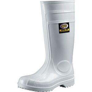 Guardian N/Slip Safety Wellingtons SFL White SZ.4