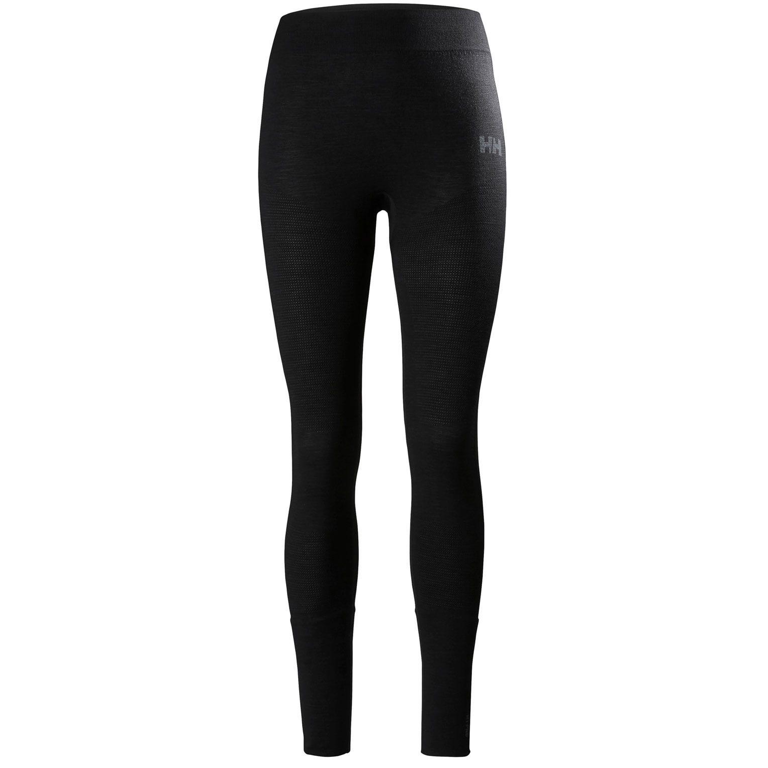 Helly Hansen Women's H1 Prolifa Seamless Base Layer Trousers Black M