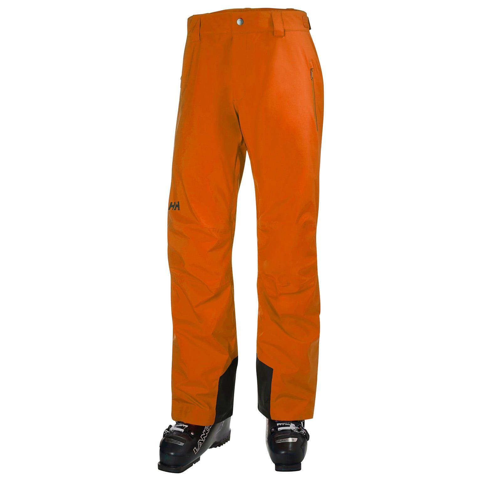 Helly Hansen Men's Legendary Insulated Ski Trousers Orange M