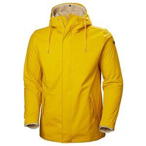 Helly Hansen Mens Moss Insulated Rain Coat Jacket Yellow S