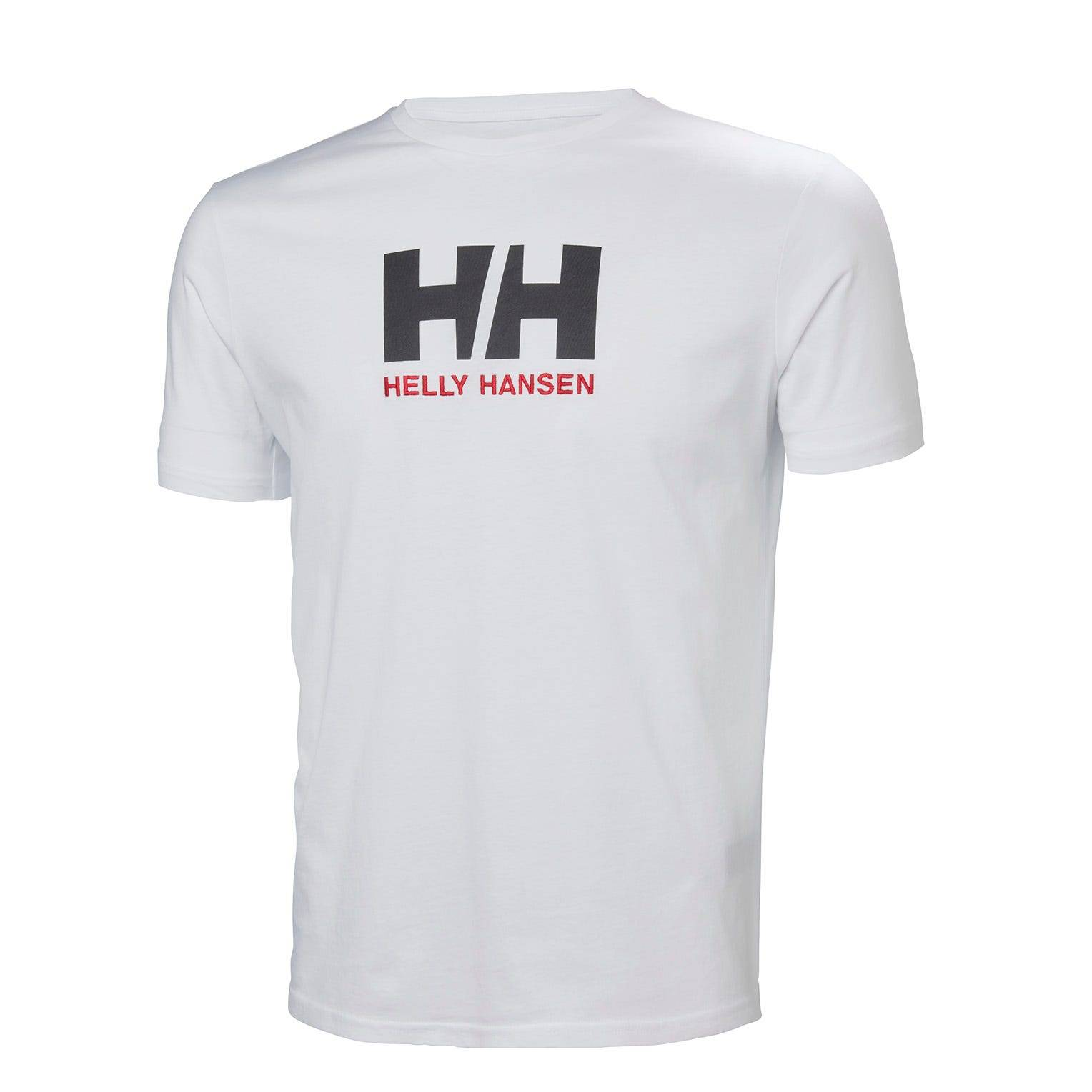 Helly Hansen Mens Logo Tshirt White L