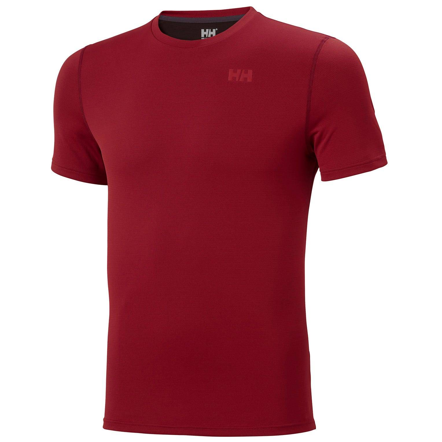 Helly Hansen Mens Lifa Active Solen Tshirt Baselayer Red M