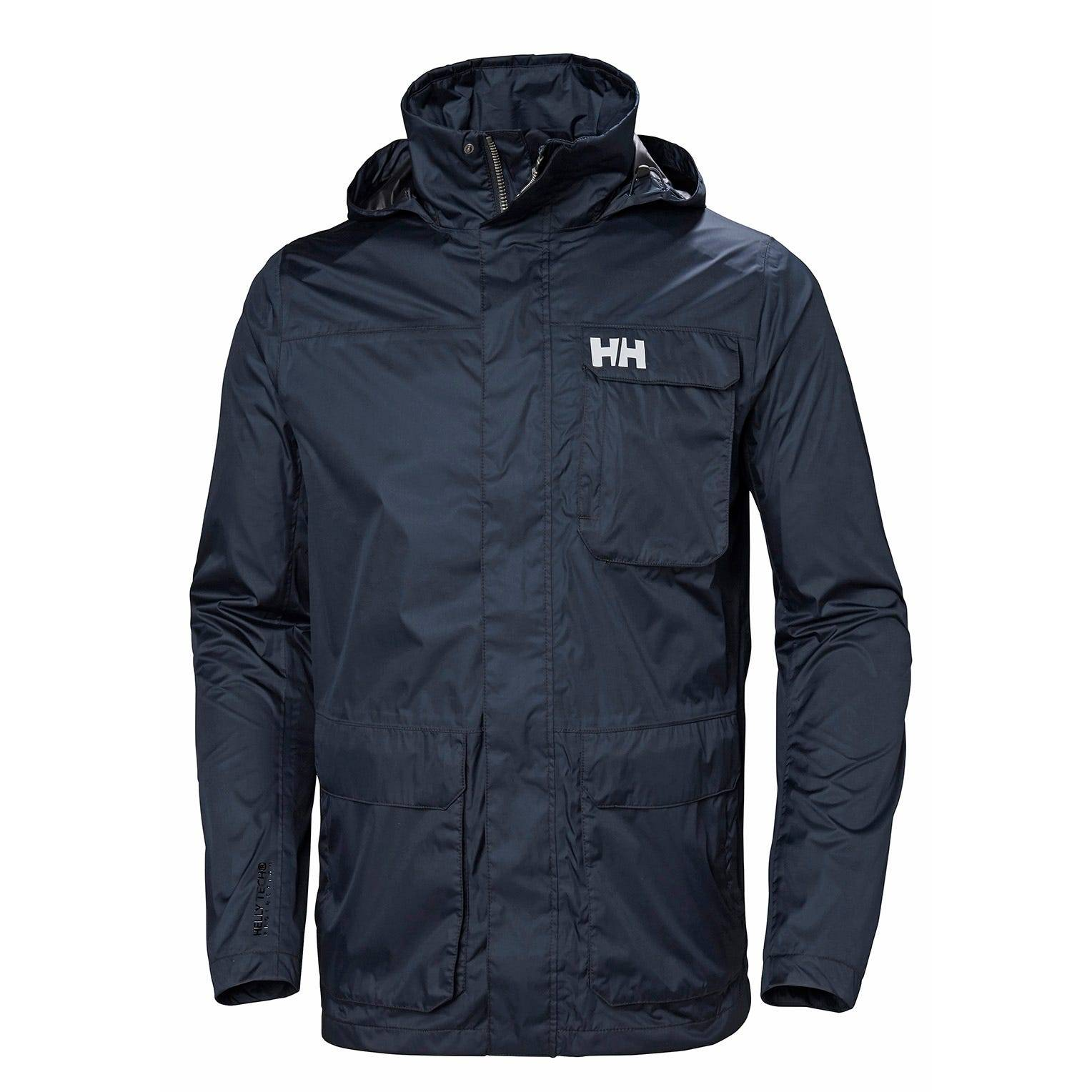 Helly Hansen Mens Urban Utility Rain Jacket Navy S