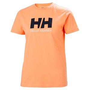Helly Hansen Women's Logo Classic T-shirt   Uk Helly Hansen Womens Orange XS