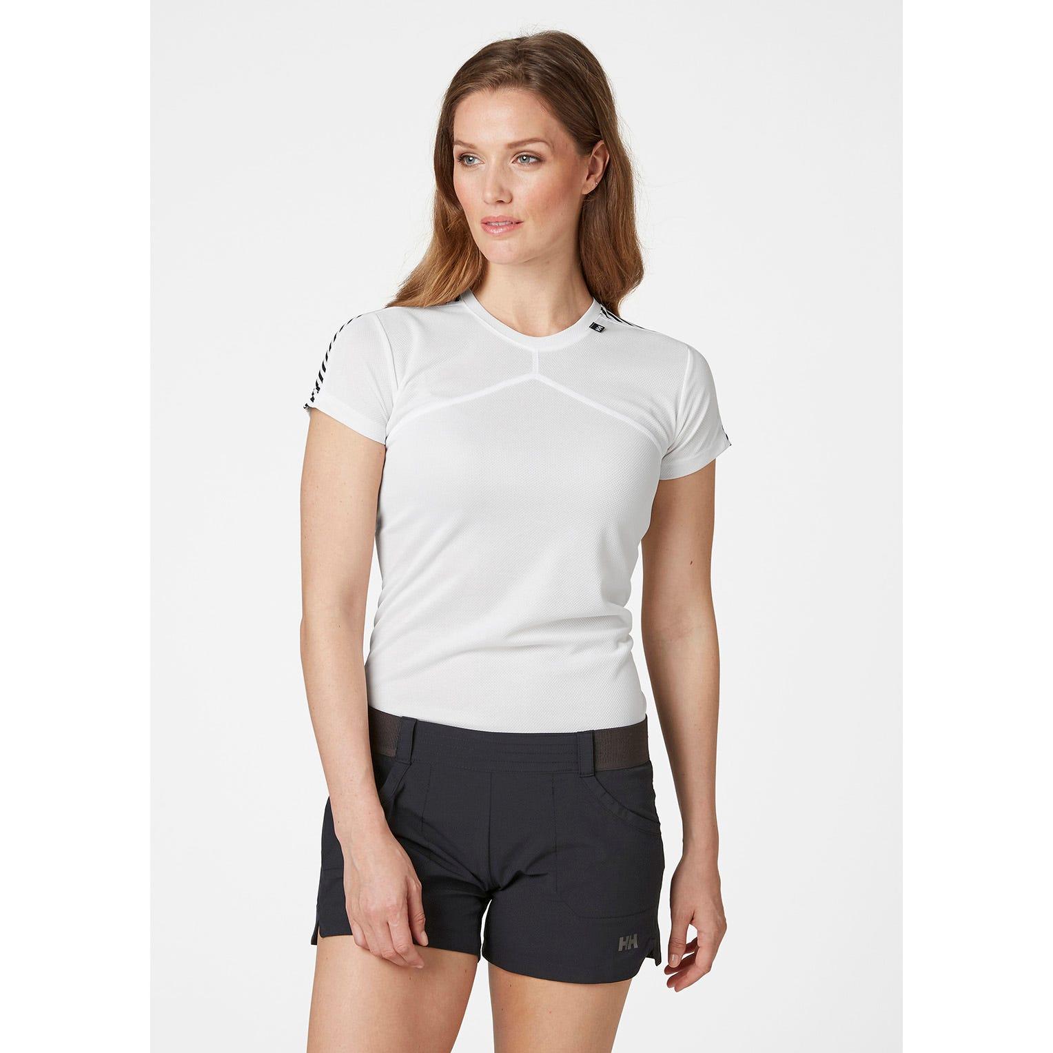 Helly Hansen Womens Lifa Tshirt Baselayer White S