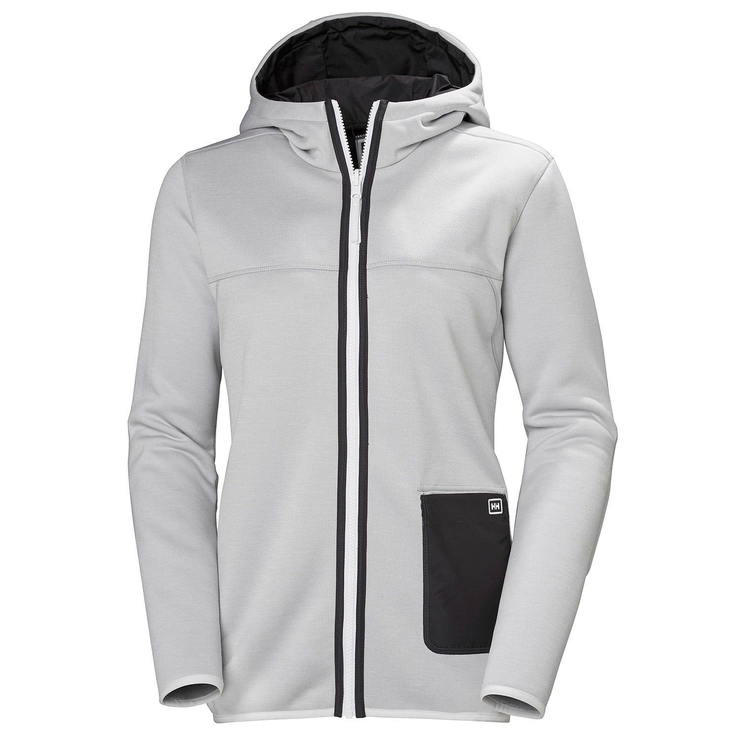 Helly Hansen Womens Verket Reversible Pile Hiking Jacket Grey M