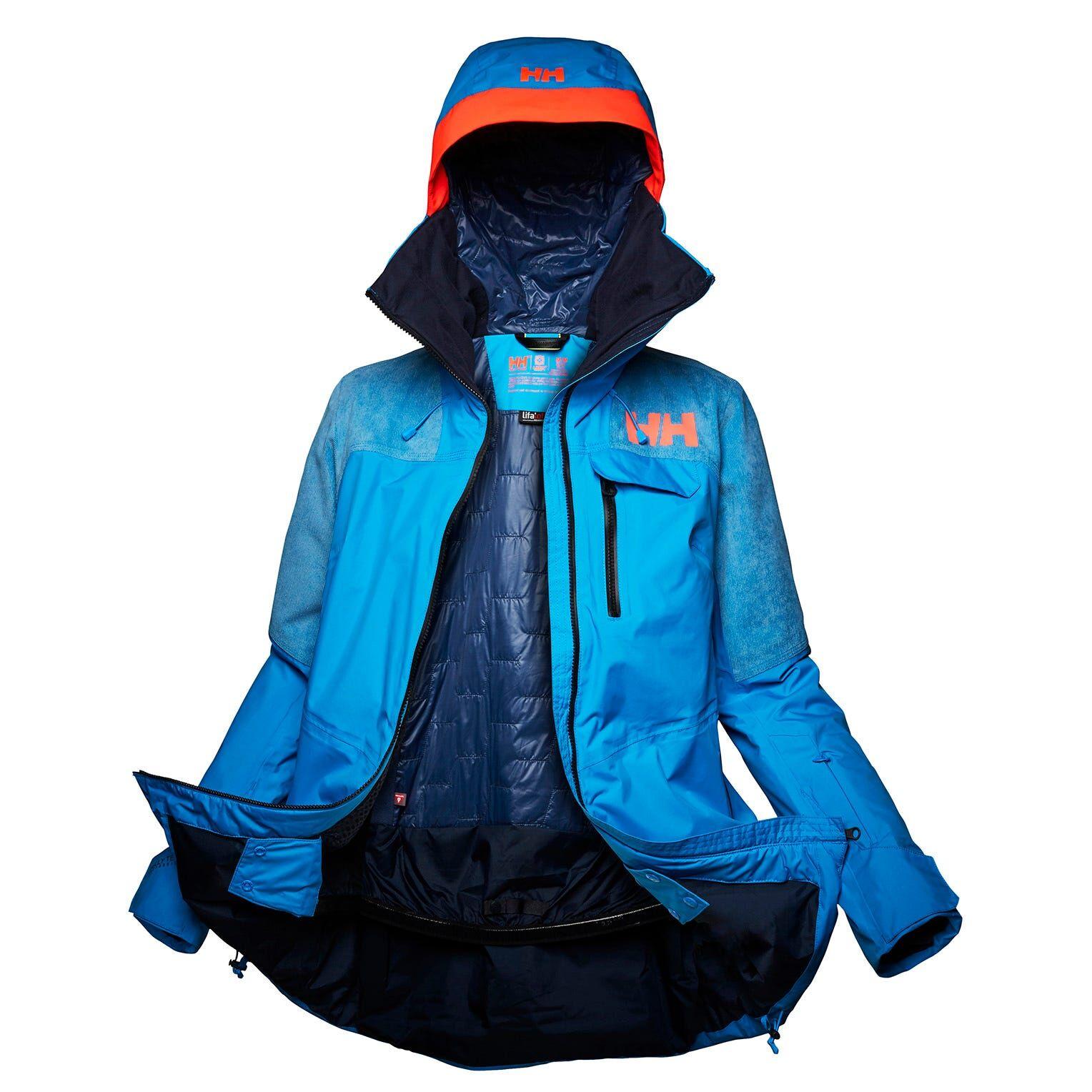 Helly Hansen Womens Whitewall Lifaloft Jacket Blue XL