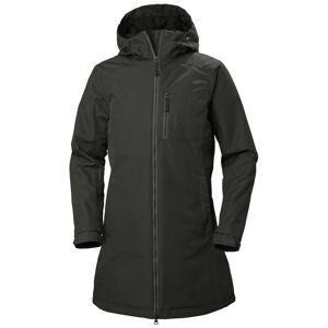 Helly Hansen Womens Long Belfast Winter Jacket Parka Green XS