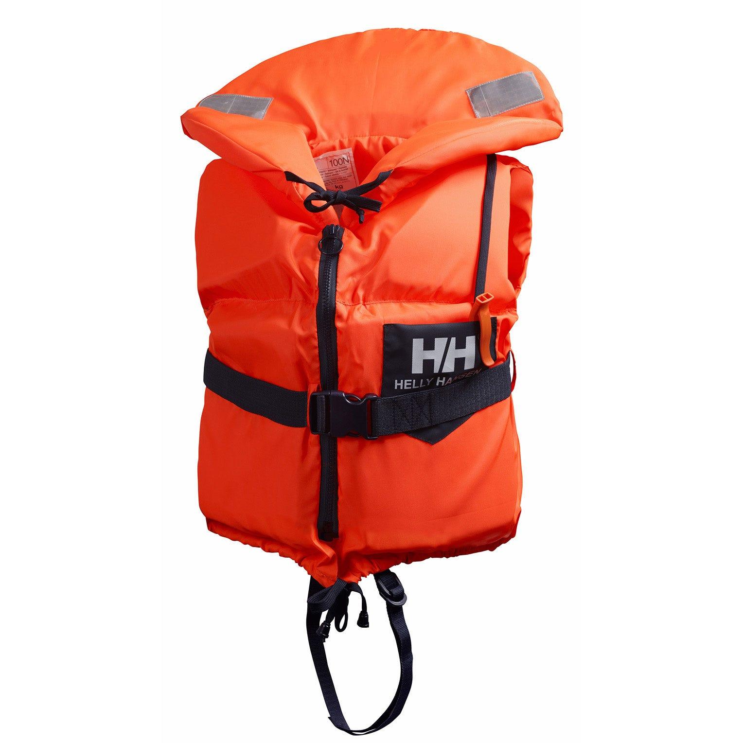 Helly Hansen Unisex W Navigare Scan Sailing Life Jacket Orange 30/40KG
