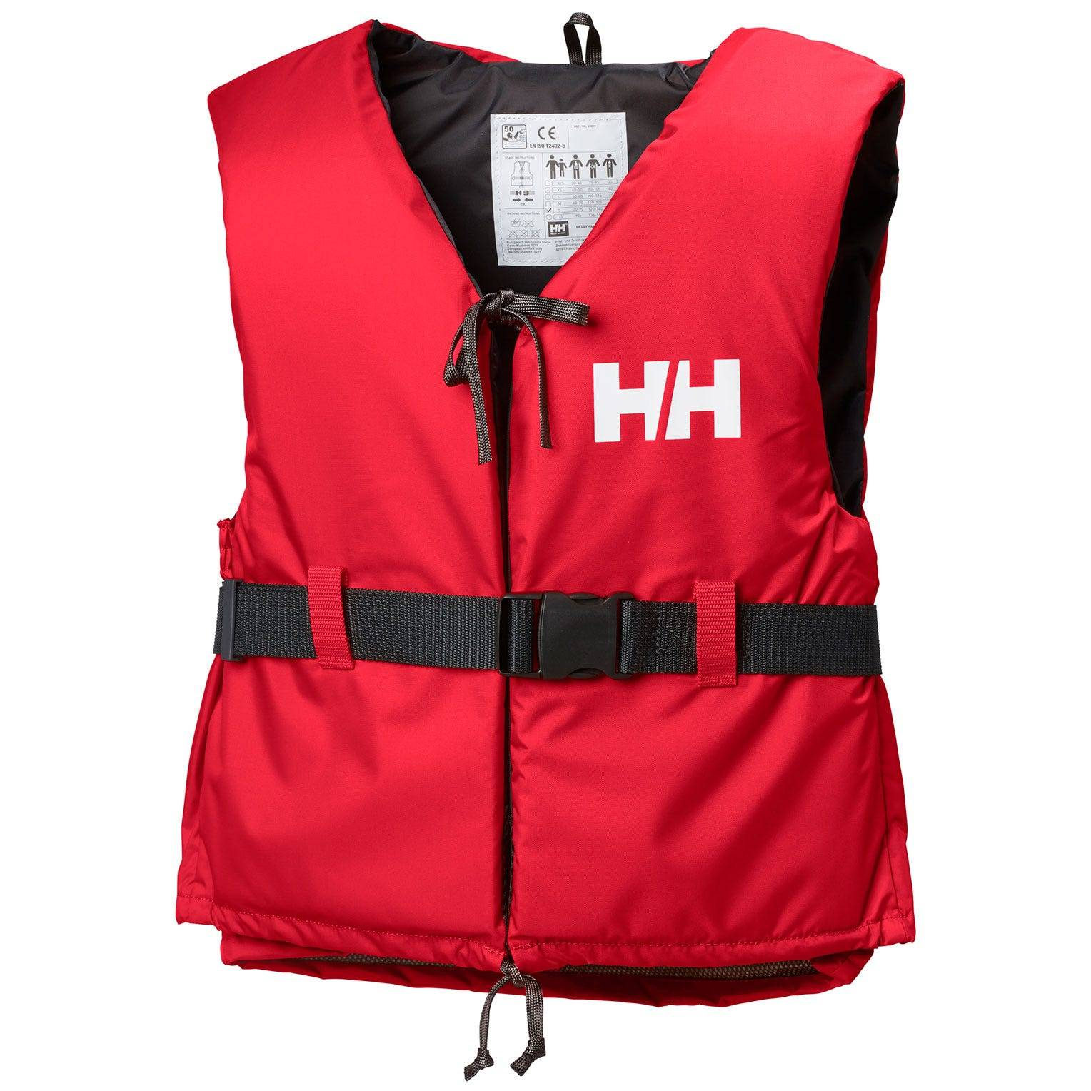 Helly Hansen Unisex Sport Ii Floatation Vest Red 70/90
