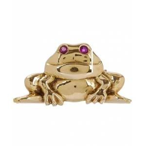 c3606cd81a3 Brooches TRUE Kojis Frog Brooch - Gold - One Size