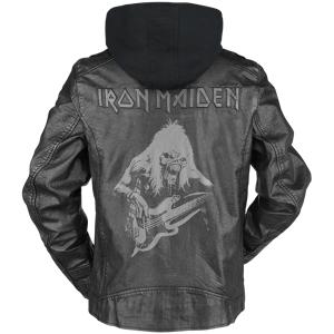 Iron Maiden EMP Signature Collection Leather Jacket black  - black - Size: 2X-Large