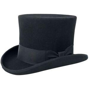 Gothicana by EMP Topper Hat black  - black - Size: 57 cm