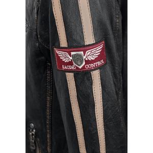 Gipsy Race Leather Jacket dark brown  - dark brown - Size: 3X-Large