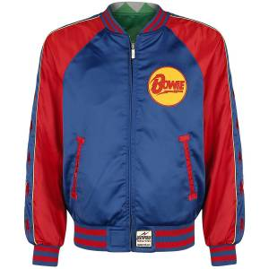 David Bowie Deathproof - Reversible Jacket Bomber Jacket multicolour  - multicolour - Size: Extra Large