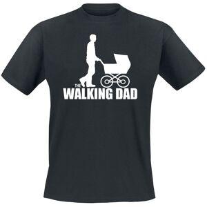 The Walking Dad  T-Shirt black  - black - Size: Large