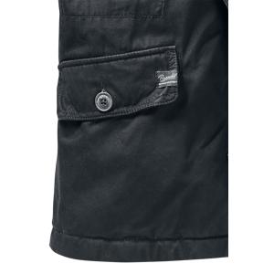 Brandit Britannia Winter Winter Jacket black  - black - Size: Extra Large