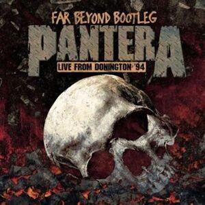 Pantera Far beyond driven: Live from Donington '94 LP multicolor  - multicolor - Size: Onesize