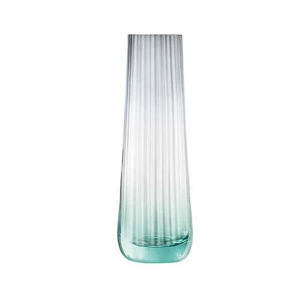 LSA Dusk Vase 20cm Green & Grey