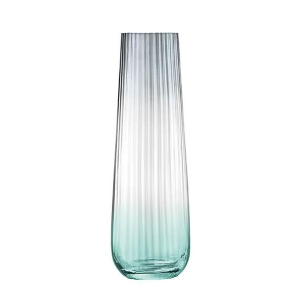LSA Dusk Vase 36cm Green & Grey