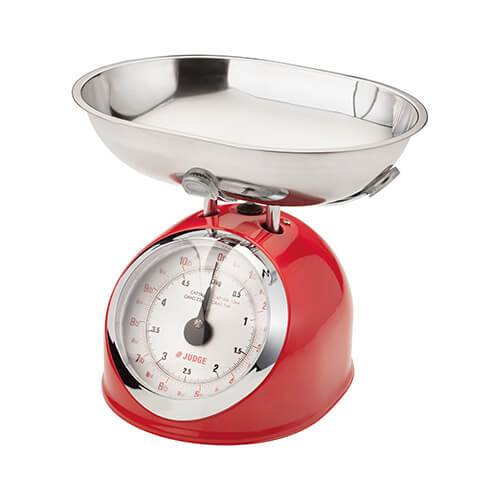Judge 5kg Traditional Scale Red