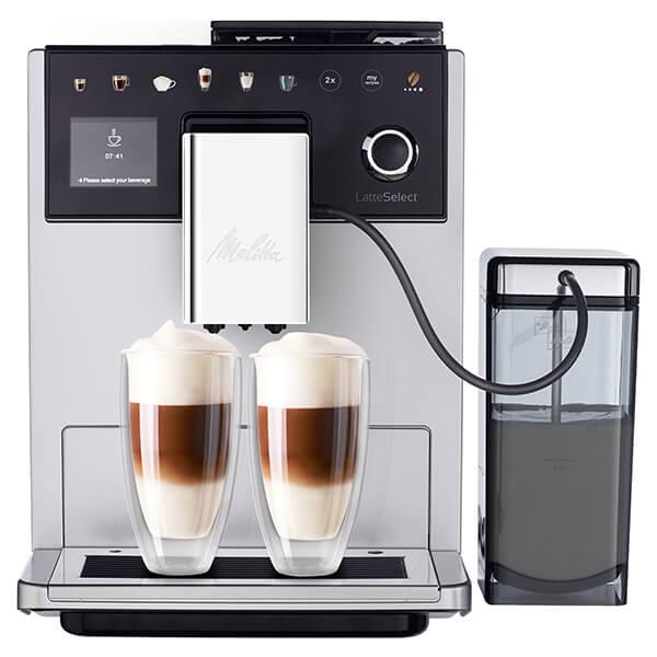 Melitta CI Latte Select Silver Bean To Cup Coffee Machine F630-201