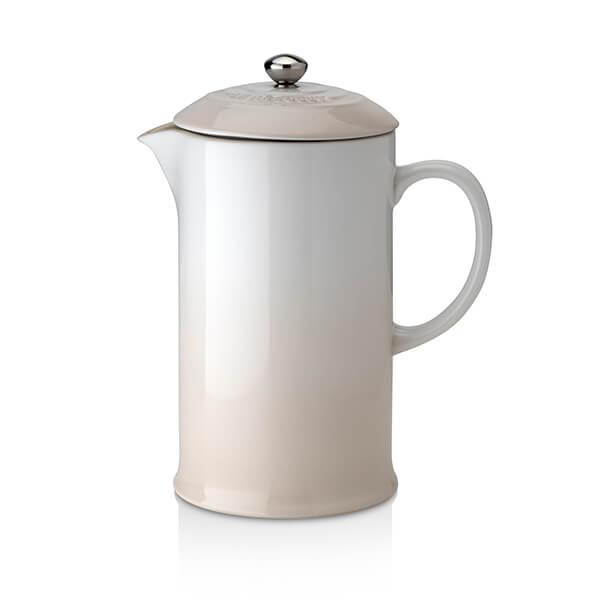 Le Creuset Meringue Stoneware Cafetiere