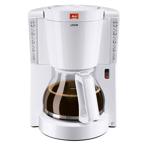 Melitta Look White Filter Coffee Machine 1011-01