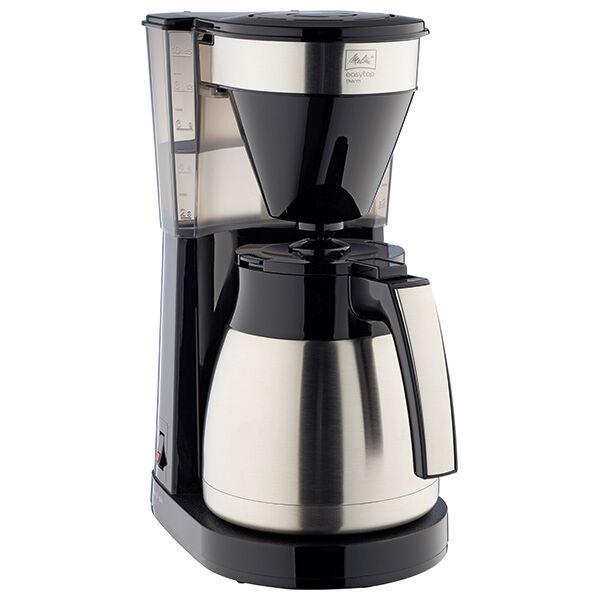 Melitta Easy Top Therm II 1023-10 Steel & Black Filter Coffee Machine