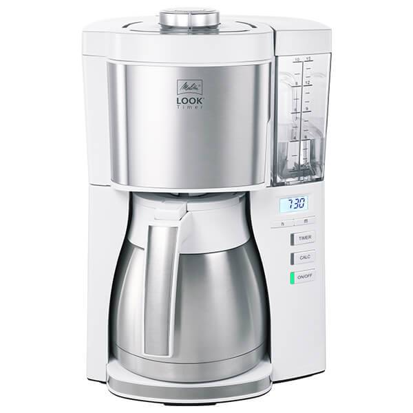 Melitta Look V Therm Timer White Filter Coffee Machine 1025-17