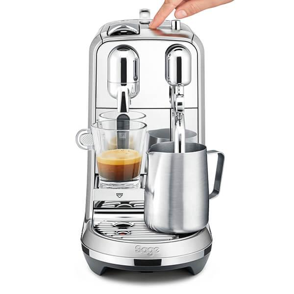 Sage Stainless Steel Creatista Plus Nespresso Coffee Machine
