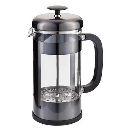 Judge 8 Cup Glass Cafetiere Anthracite
